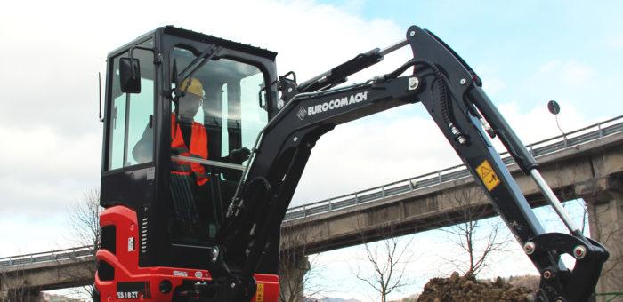 Leasingtilbud på Eurocomach 1,8 tons minigraver